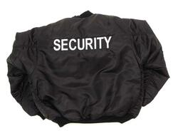 "US Pilotenjacke MA1,""SECURITY sort"